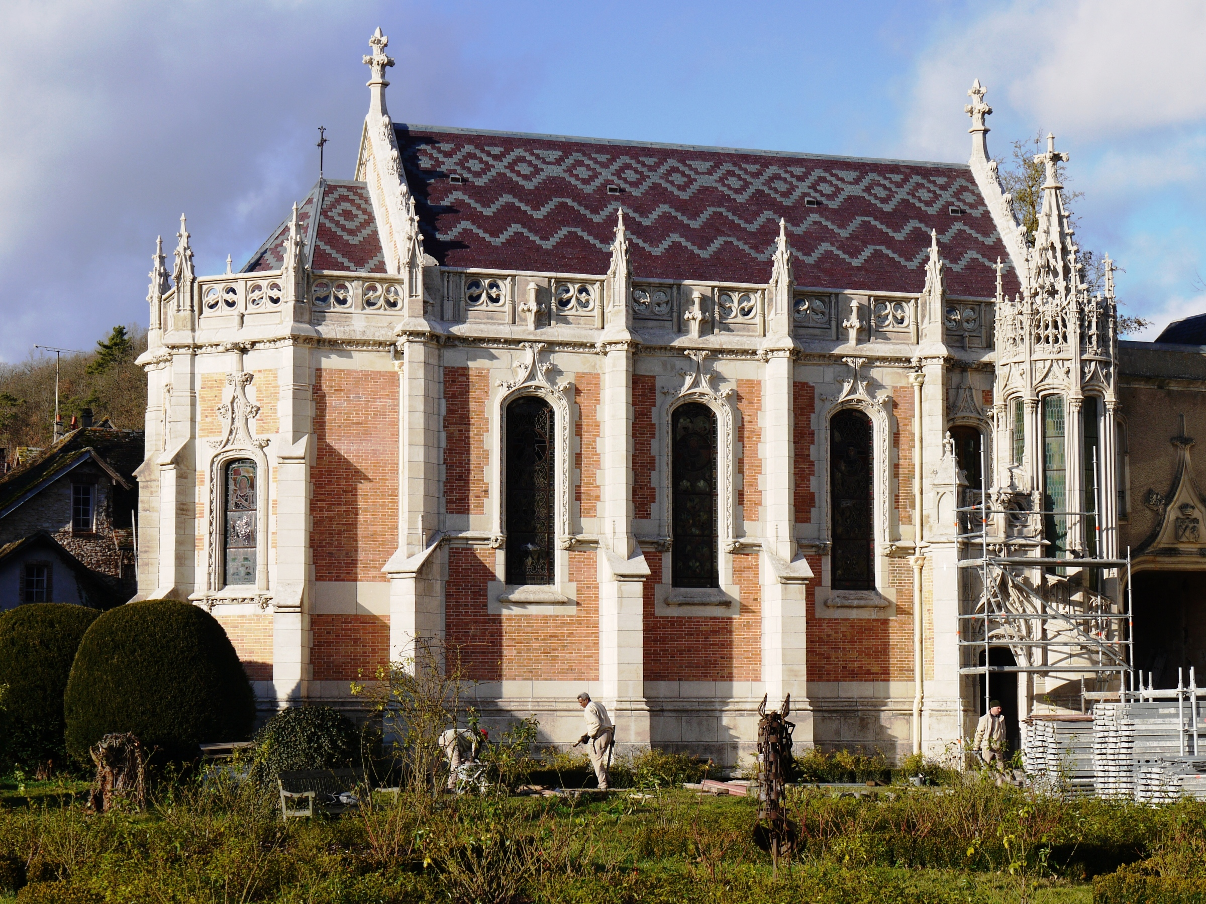 Chapelle du Château du Grand Saint Mars (91)